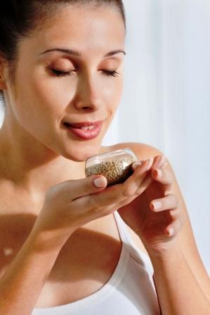 льняное семя  против рака груди женщины
